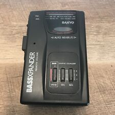 Sanyo MGR401D Personal Stereo Radio /Cassette Player Walkman - Tested