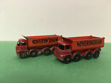 Matchbox Lesney Vintage 1963 Foden Classic Hoveringham Tipper Truck Diecast Lot