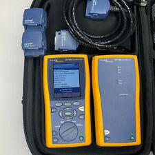 Fluke DTX-1800 Cat6 Cable Analyzer Kit - Low Test Count