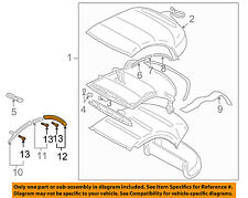 MITSUBISHI OEM Eclipse Convertible/soft Top-Weatherstrip Seal Right MR987678