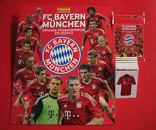 Panini Bayern München 2012 2013 ALBUM + 5 TÜTEN + 90 verschiedene Sticker 12 13