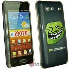 Cover Custodia Per Samsung Galaxy Advance i9070 Problem? Meme Troll + Pellicola