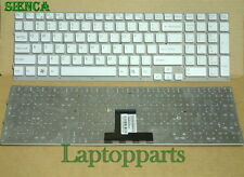 "GENUINE Sony Vaio VPC-EB VPCEB 15.5"" White Keyboard 148793221 NEW US"