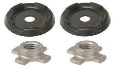 *2x Strut Spacer MTC + Nuts fits 1993-2010 Volvo V70 S60 C70 V70 #30647969