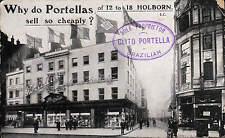 Holborn. Porterllas Shop. Costumes, Mantles, Flowers. Clito Portella, Brazilian.
