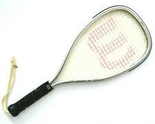 Vintage Wilson Racquetball Racquet Tempest Plus Black Leather Grip No Cover
