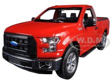 2015 Ford F-150 Regular Cab Pickup Truck Red 1/24-1/27 Diecast Car Welly 24063