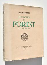 Histoire de Forest lez Bruxelles – Louis Verniers (De Boeck, 1949)