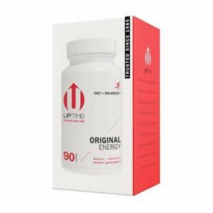 UPTIME - Premium Energy Supplement - Original Blend Tablets - 90ct Bottle
