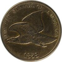 1858 Flying Eagle Cent Large Letters