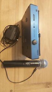 Shure SM58  wireless microphone system