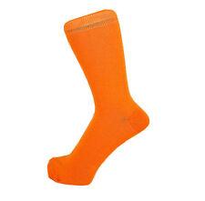 New Men Fashion Cotton Rich Mid Calf Plain Color Ankle Socks One Size 6 -11