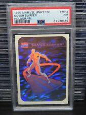 1990 Marvels Universe Silver Surfer Hologram Super Heroes #MH3 PSA 7 Q162