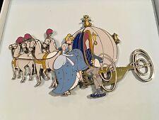 Disney DA Cinderella Horses Carriage Coach jumbo pin LE 100