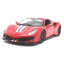 Burago 1/24 Ferrari 488 Pista Diecast Car Model Red
