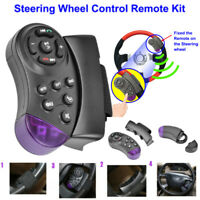 SWC Universal Steering Wheel Wireless Remote Control for Car CD DVD MP5 Player