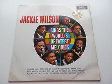 JACKIE WILSON SINGS THE WORLDS GREATEST MELODIES ORIGINAL 1962 UK LP