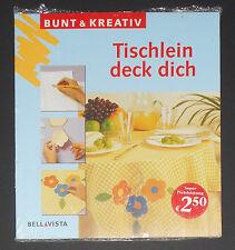 Tischlein deck dich, originelle Tischdekorationen, Bunt & Kreativ,Bellavista,NEU