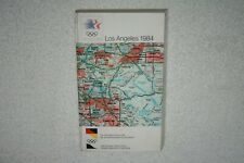1984 Los Angeles Olympic Games West Germany HANDBOOK / MEDIA GUIDE * 2 Languages
