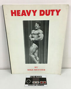 Heavy Duty by Mike Mentzer Book Bodybuilding 90s 1993 Physique Muscle Body