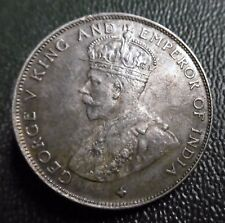CANADA - STRAITS SETTLEMENTS - 50 CENTS 1920 - GEORGE V -  Argent