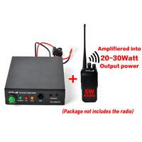 30W VHF Power Amplifier For 2-6W Motorla Yaesu Baofeng UV-5R Walkie Talkie