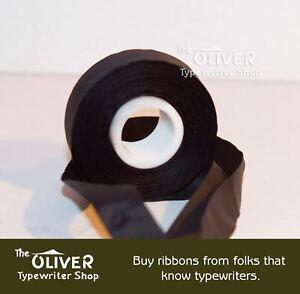 7/16 Black NylonTypewriter Ribbon for Oliver No. 2, 3