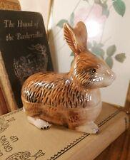 More details for rare signed michael caugant french ceramic majolica rabbit paté terrine tureen
