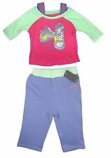 Converse Baby Girls T Shirt Top Trousers Jogging Bottoms Pink Purple 6-9 Months
