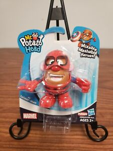 NIP Hasbro Mini Mr.Potato Head Marvel Spiderman Mixable Mashable Super Hero 2013