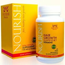 Nourish Beaute Hair Loss Supplement - With Biotin and Natural DHT Blockers