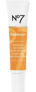 No7 Radiance+ Roll & Glow Eye Cream 0.5 oz