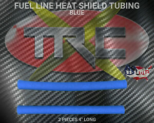 TRC2521 Blue RC Nitro Fuel Line Heat Shield Tubing BOGO FREE