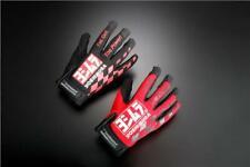 Genuine YOSHIMURA JAPAN Gloves Black Medium Race Superbike Suzuka 8 Hours