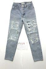 Levi's custom destroyed Boyfriend (Cod.J449) Tg.42 W28 L30 jeans usato donna