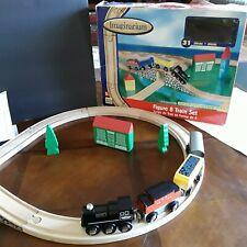 Imaginarium Toys R Us Wooden Figure  8 Train Beginner Set Thomas Brio  IOB Wood