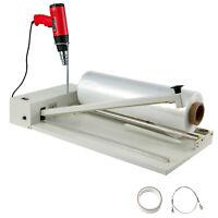 18' 530W Shrink Wrap Sealing Machine 1800W Heat Gun 558 Feet Film I-bar Sealer