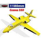 Dynam Cessna 550 Turbo Jet Yellow Twin 64mm EDF - PNP