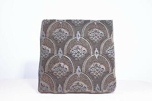 Antique Vintage Early 20th Century Wooden Textile Printing Block