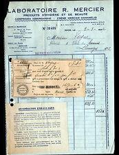 """NICE (06) USINE de PRODUITS d'HYGIENE & BEAUTE """"LABORATOIRE R. MERCIER"""" en 1942"""