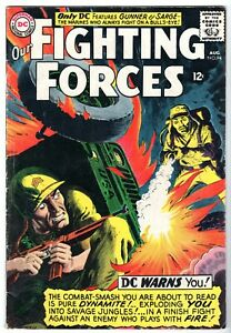 Our Fighting Forces #94 Featuring Gunner & Sarge, Very Good - Fine Condition*