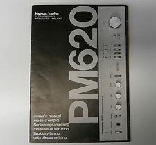 Harman Kardon PM620 manuale del proprietario