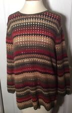 Lauren Ralph Lauren Hand Knit size L sweater top