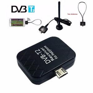 DTV Link DVB-T2 USB Digital TV Receiver Tuner Stick For Android Pad Mob^JN
