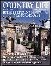 Country Life Apr 2006 KEW PALACE RHODES FLOWERS BRUERN ABBEY PADSTOW SNUFF