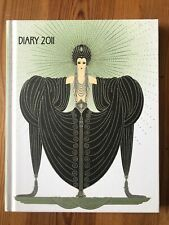 ERTÉ ILLUSTRATED DIARY 2011 ART DECO FASHION ART - NEW UNUSED RARE COLLECTABLE