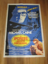 IPCRESS FILE   US/Spanish poster 1965 Michael Caine