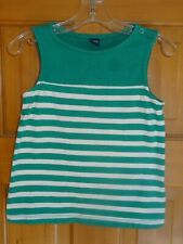 EUC Girls Size 5 Green Gap Tank Top