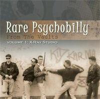 RARE PSYCHOBILLY FROM THE VAULTS Volume 1 CD - NEW - Sharks, Frantic Flintstones
