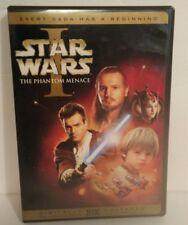 Star Wars Episode I: The Phantom Menace (DVD, 2001, 2-Disc Set, English  French